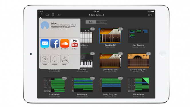 iPad apps to create music