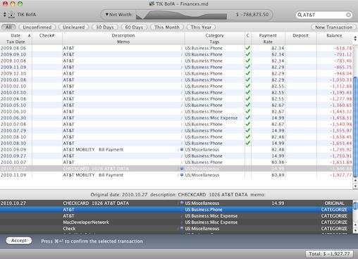 Top Quicken for Mac alternatives on Lion