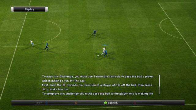 PES 2012 training challenge