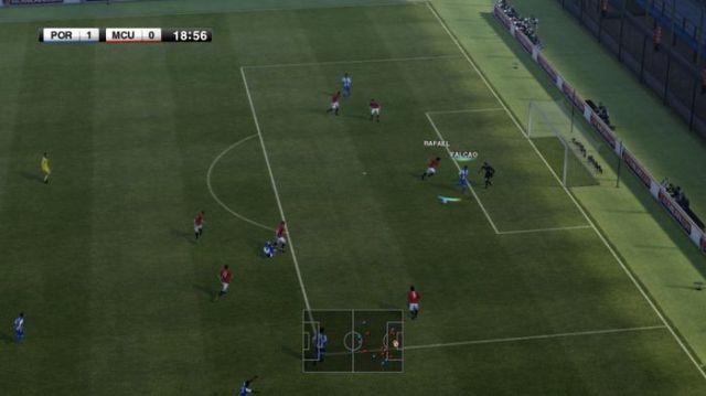PES 2012 gameplay