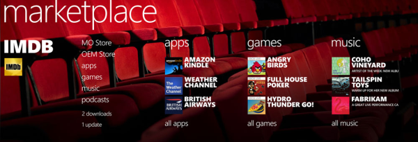 Apps on Windows Phone 7