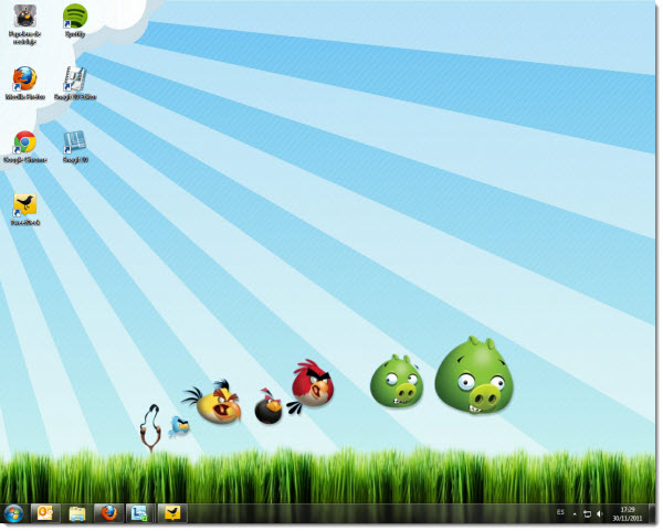 how to add windows ten themes