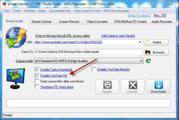 How to download youtube videos with atube catcher you ccuart Choice Image