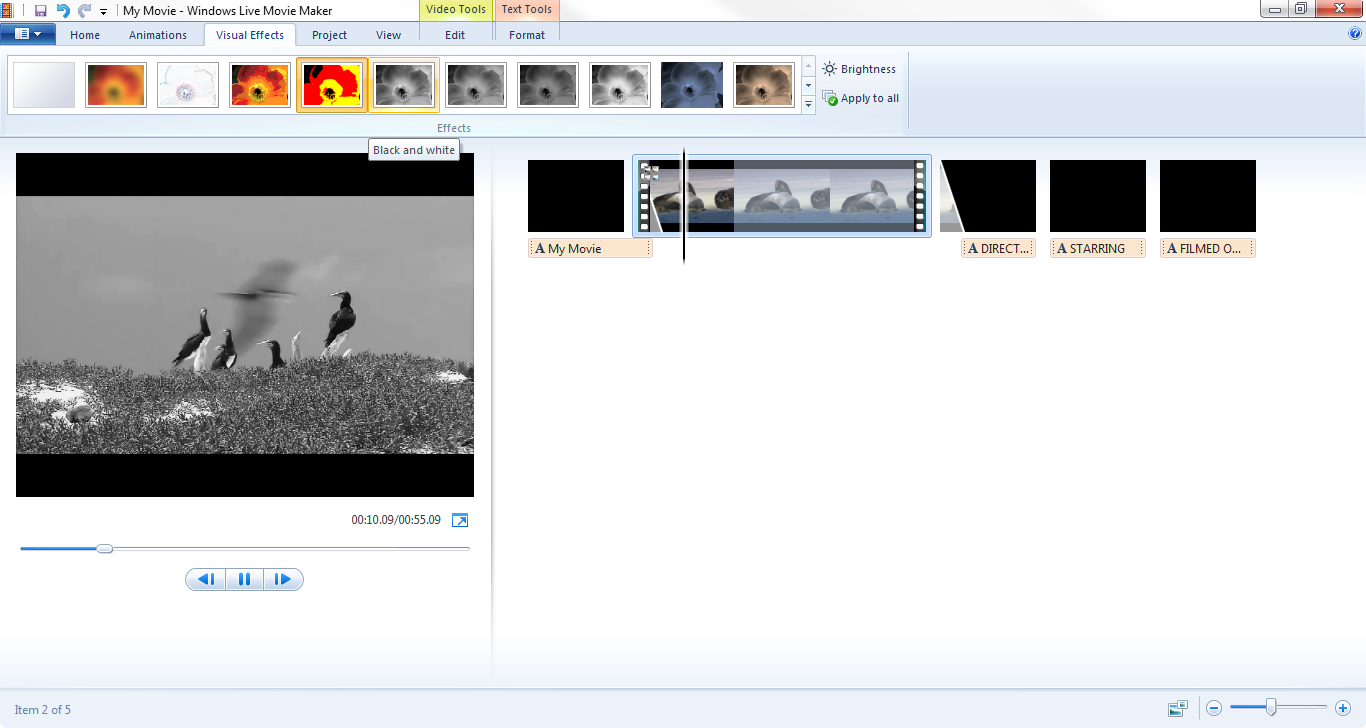 how to: add visual effects and animations in windows live movie maker, Powerpoint templates