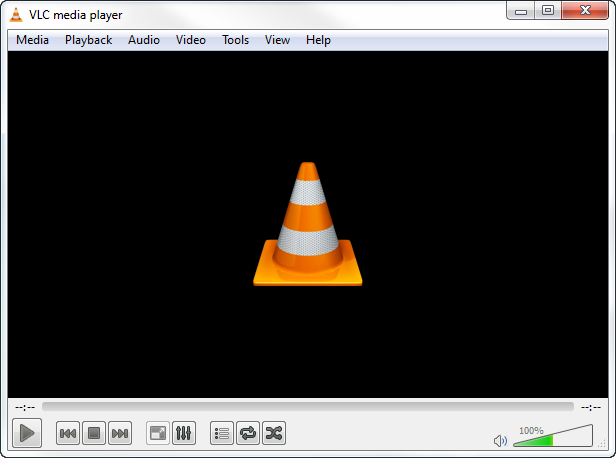 vlc media player interface