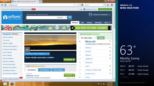 Windows 8 Metro multitasking
