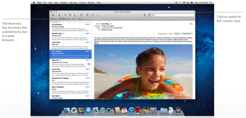 OS X Lion Mail