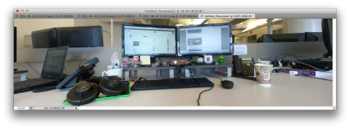 Adobe photoshop panorama photomerge