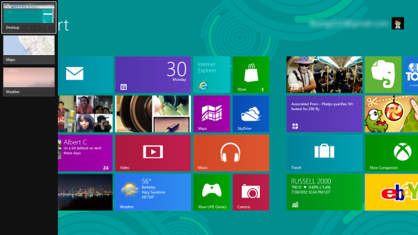 Windows 8 cycle apps