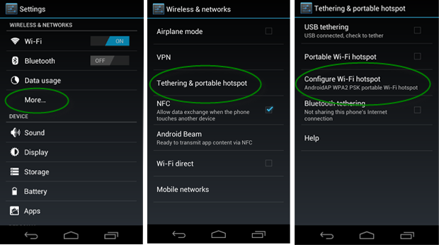 How To Create A Wi Fi Hotspot On An Android Phone