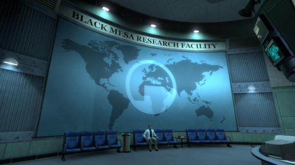 black mesa reception desk