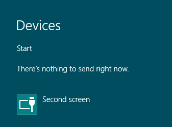 windows 8 devices button