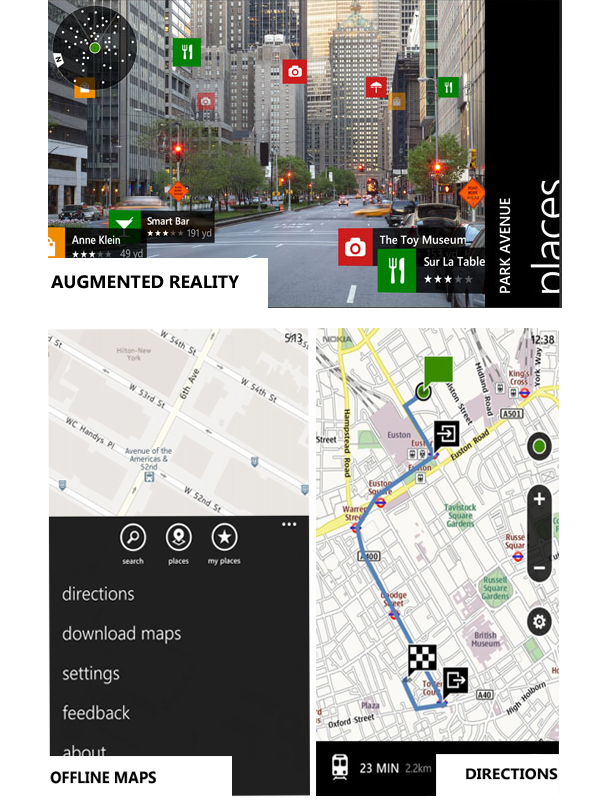 google maps app windows phone