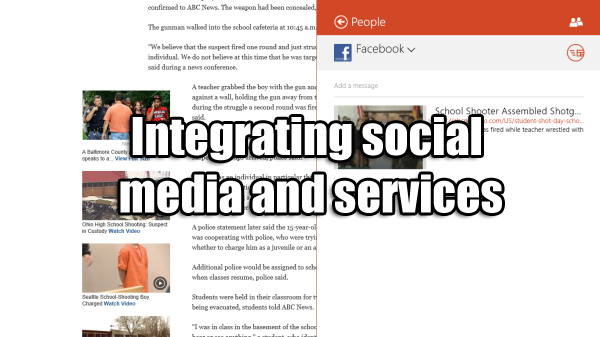 social media and services