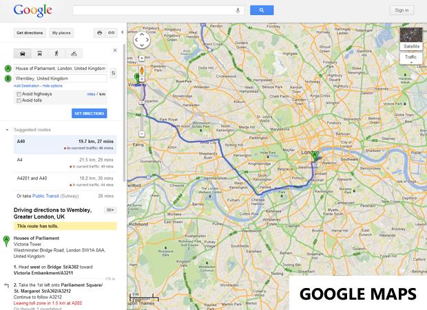 dating.com uk site map google maps