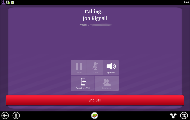 how to make viber call from laptop