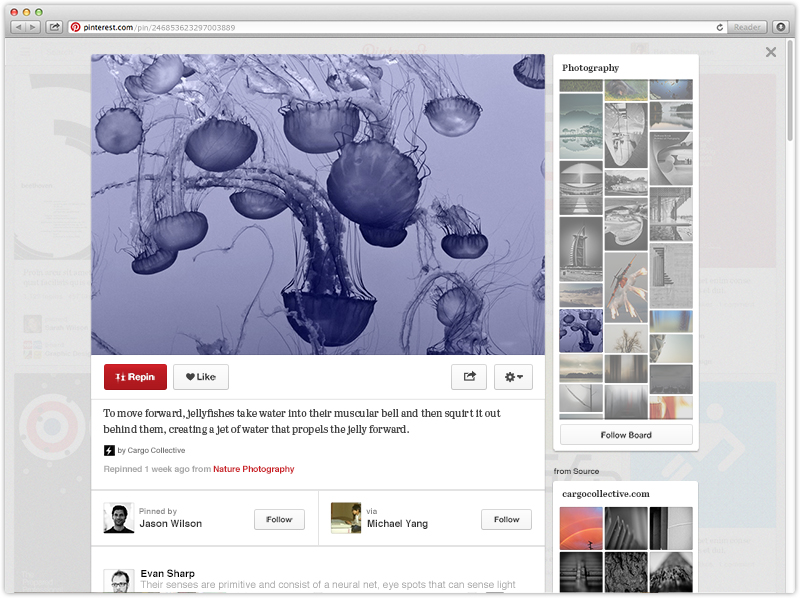 pinterest updated boards