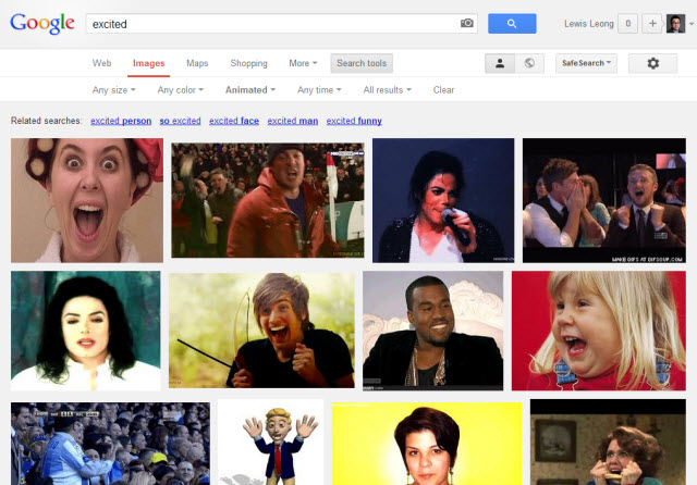 google images animated gif search