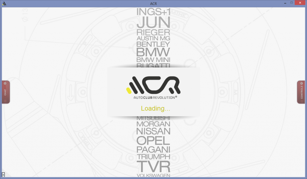 acr loading screen