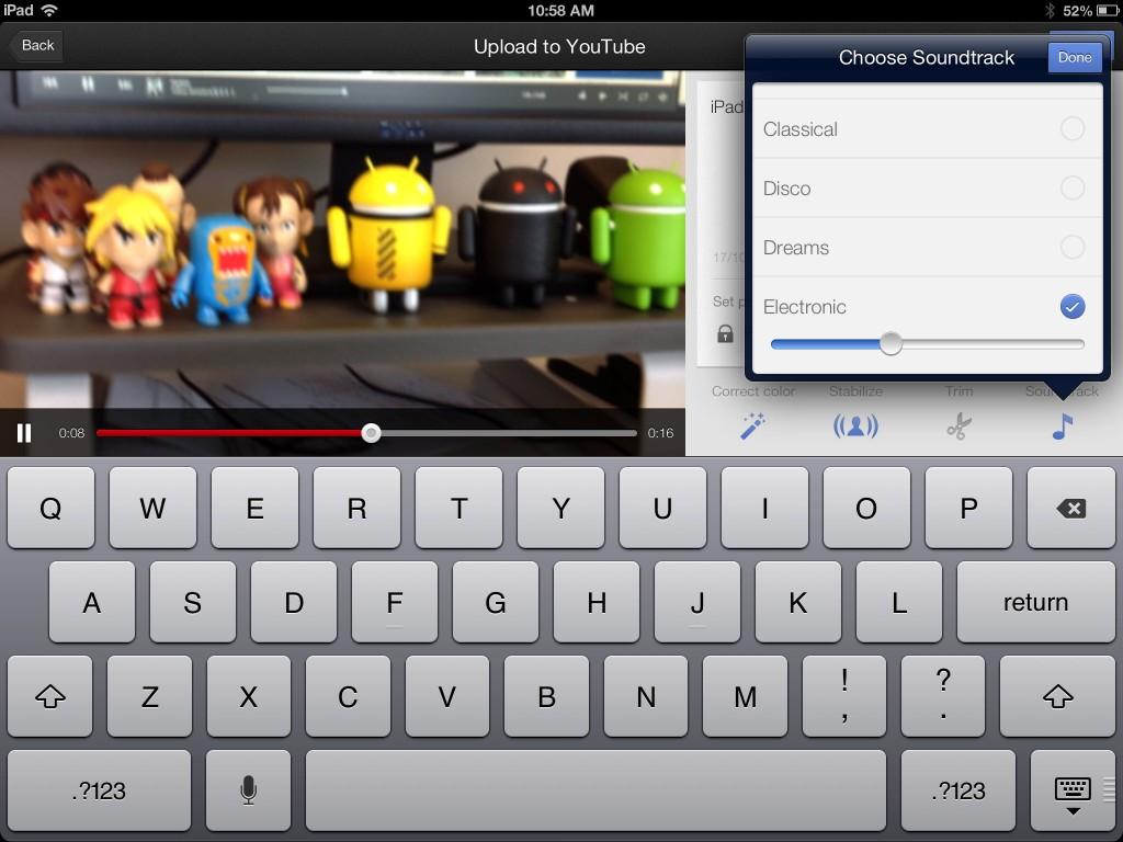 youtube capture description