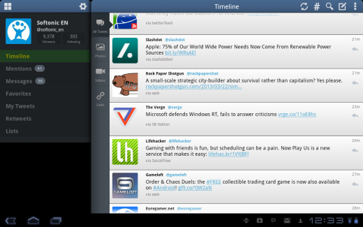 Top 25 apps for your Android tablet