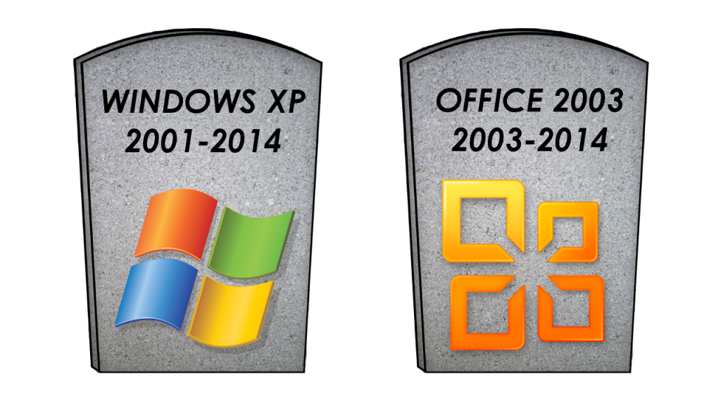 microsoft to windows xp and office 2003 users you have one year to
