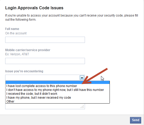 Login issues code facebook approval Atiqul's Question
