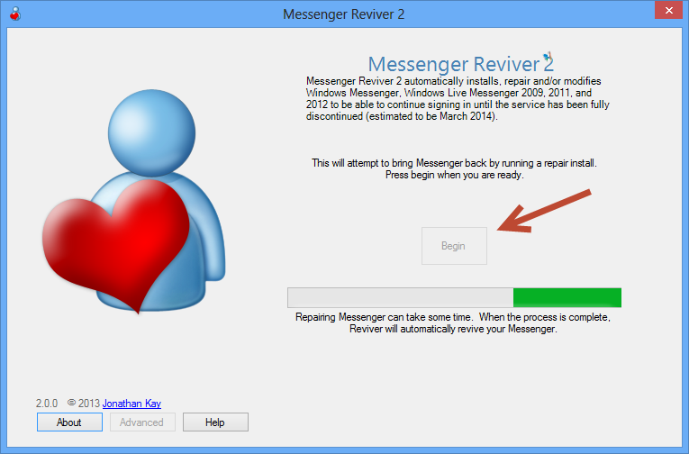 repair messenger