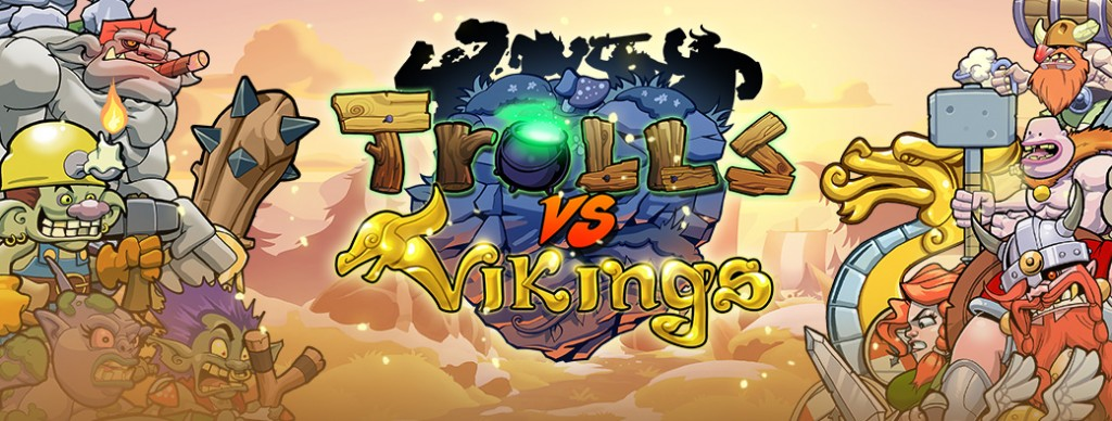 trolls vs vikings banner