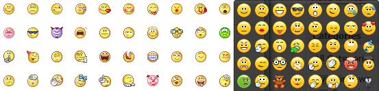 emoticons-Skype-and-Yahoo