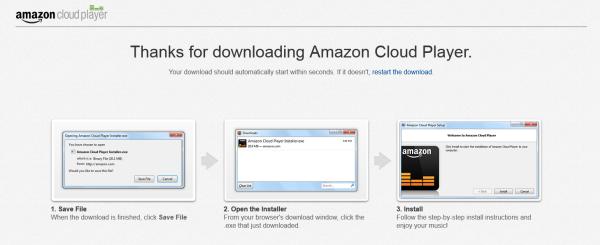 Amazon music importer installer