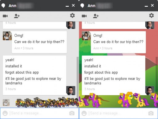 google hangouts easter eggs 2