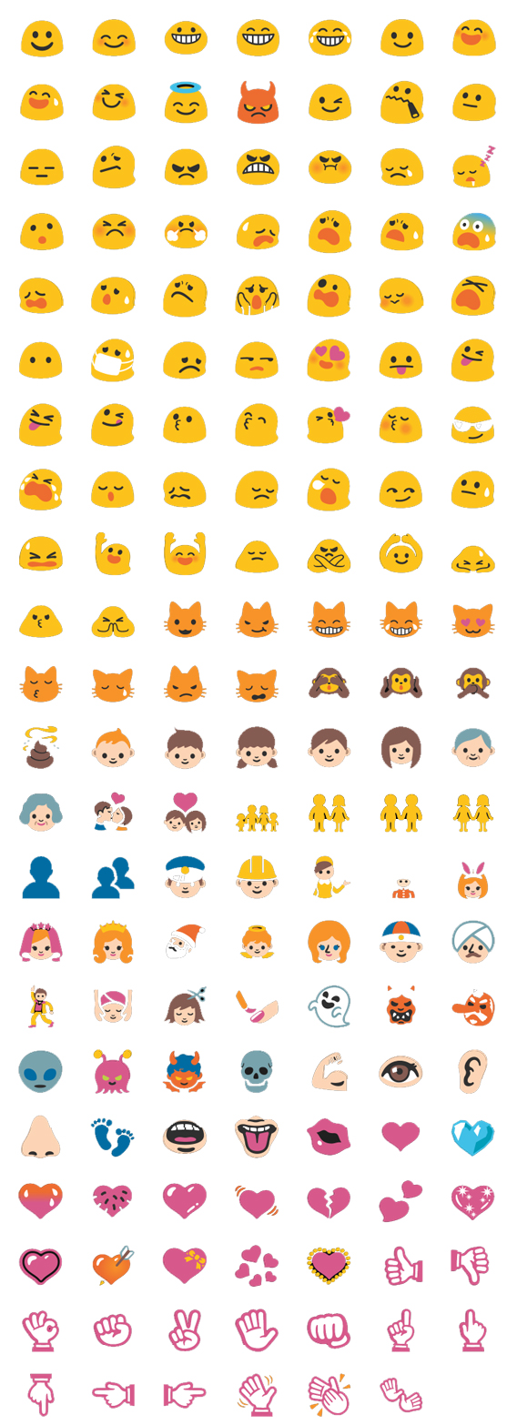 New emoji and emoticons for google hangouts 1 moods people and gestures buycottarizona
