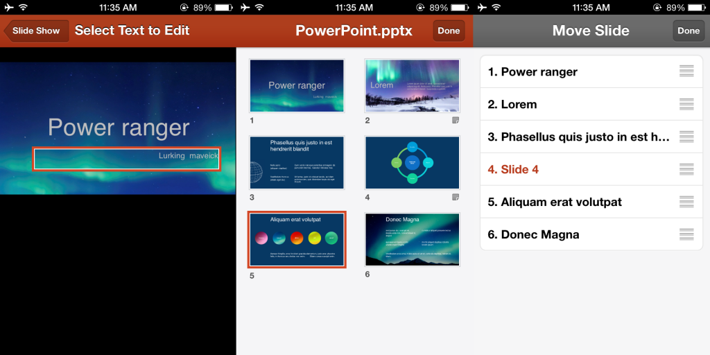 powerpoint office mobile