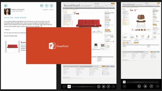 PowerPoint con interfaz Modern