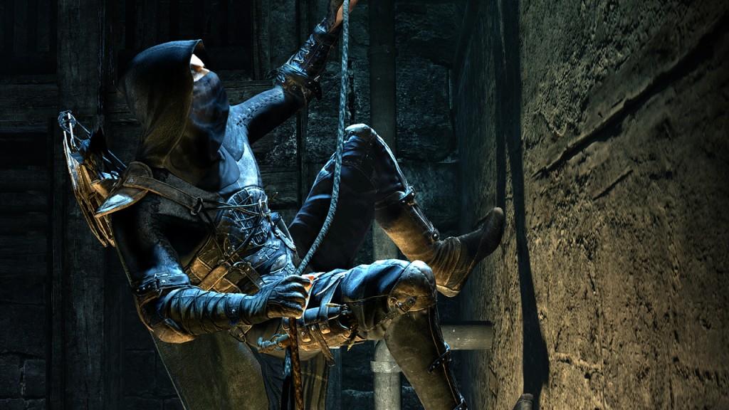 thief climbing