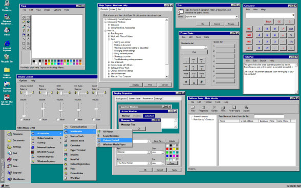 You Can Now Relive Windows 95 In All Its Glory Thanks To A Handy New App