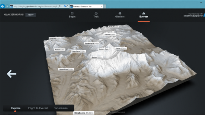 internet explorer 11 3D test