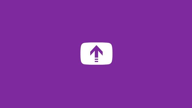 YouTube Uploader header
