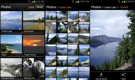 cloud drive photos combined