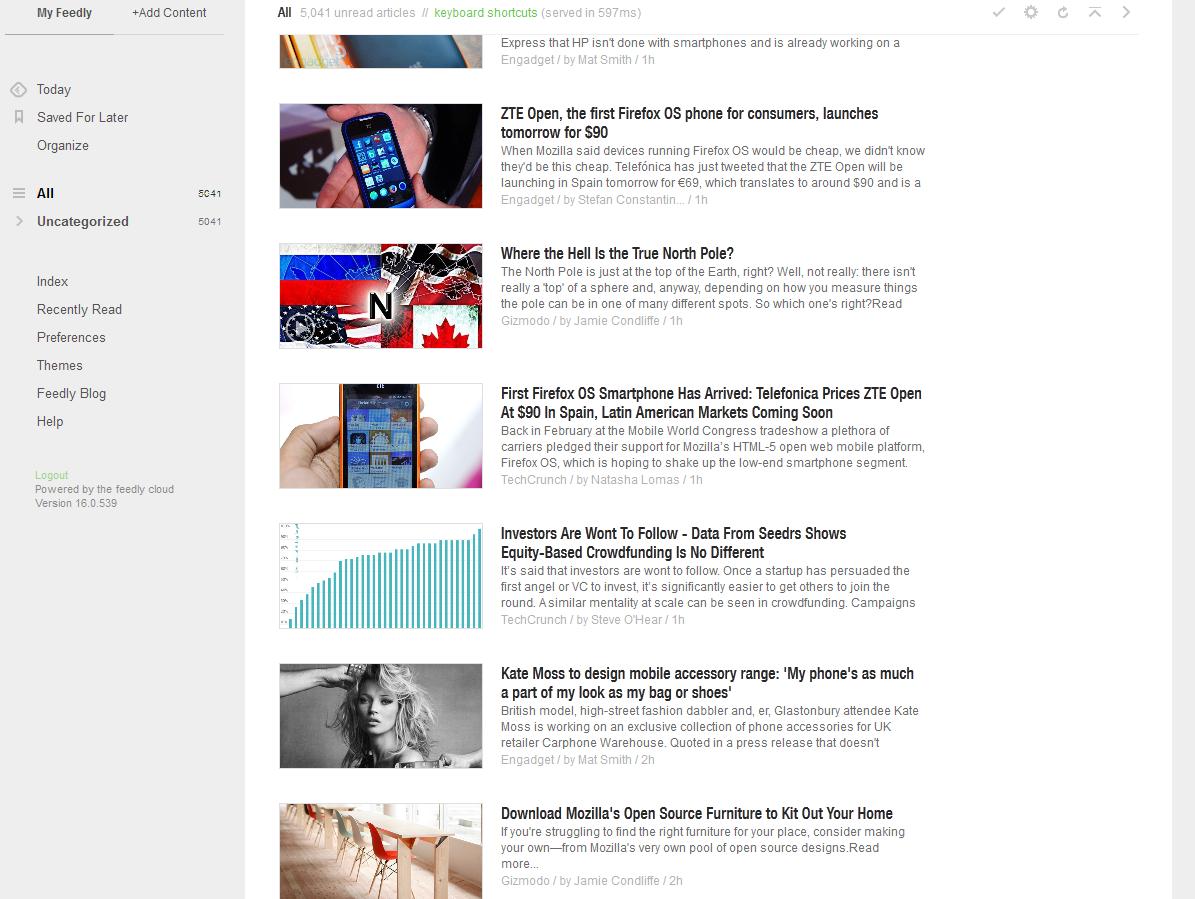 Digg Reader vs AOL Reader vs Feedly