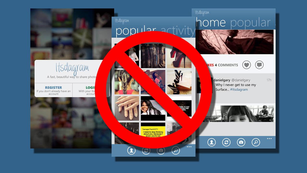 Instagram begins blocking third-party Windows Phone app uploads