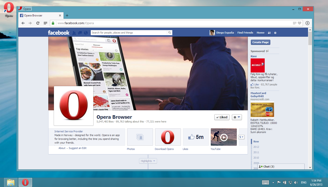 Chromium-based Opera 15 out for PC and Mac now