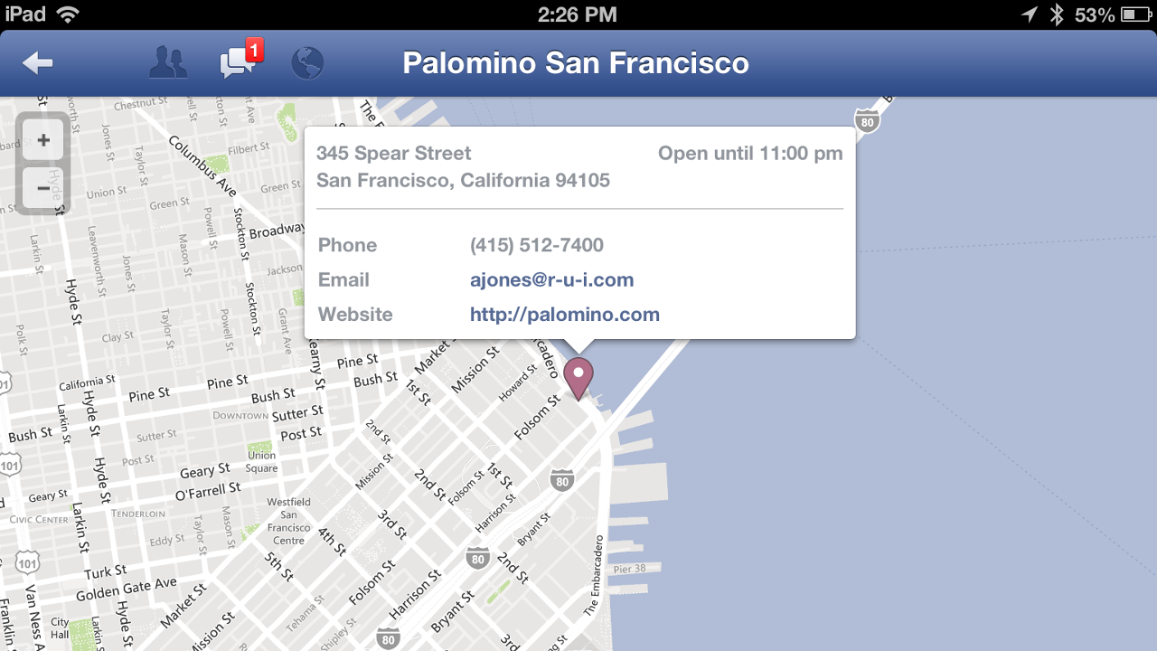 Facebook for iOS now supports OpenTable reservations, Rovi TV Guide