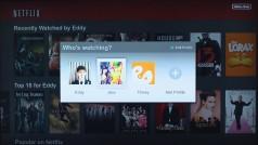 Netflix finally gets user profiles