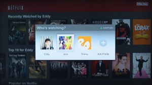 Netflix finally gets user profiles