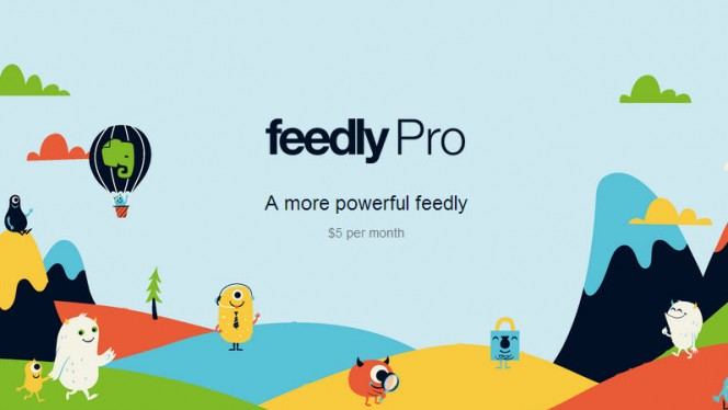 Feedly Pro header