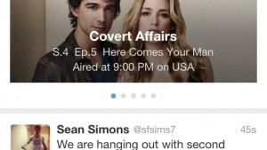 Twitter experiments with 'TV Trending' box at the top of your Timeline