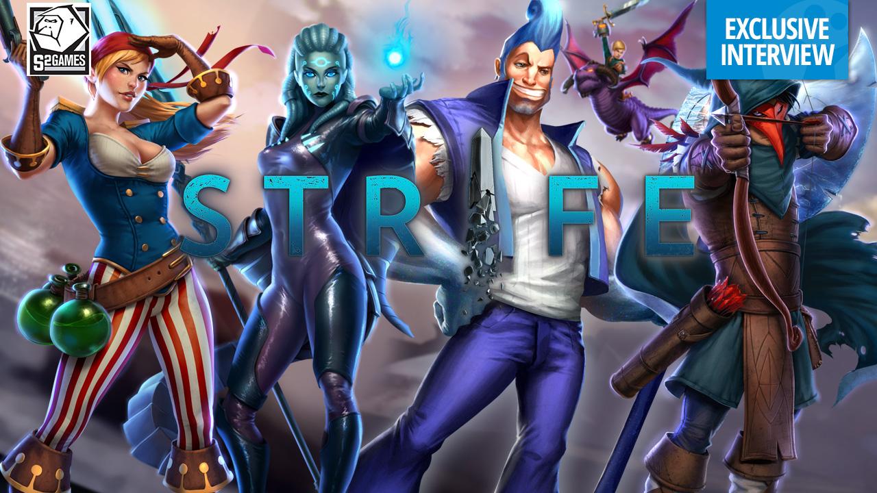 S2 Games talks clean sheet design in Strife