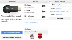 Chromecast app comes to iOS